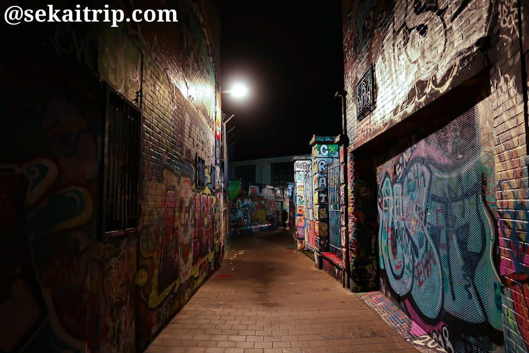 グラフィティ・ストリート(Graffitistraatje)