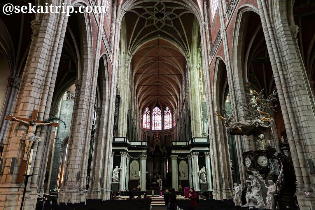 聖バーフ大聖堂(Sint-Baafskathedraal)の内部