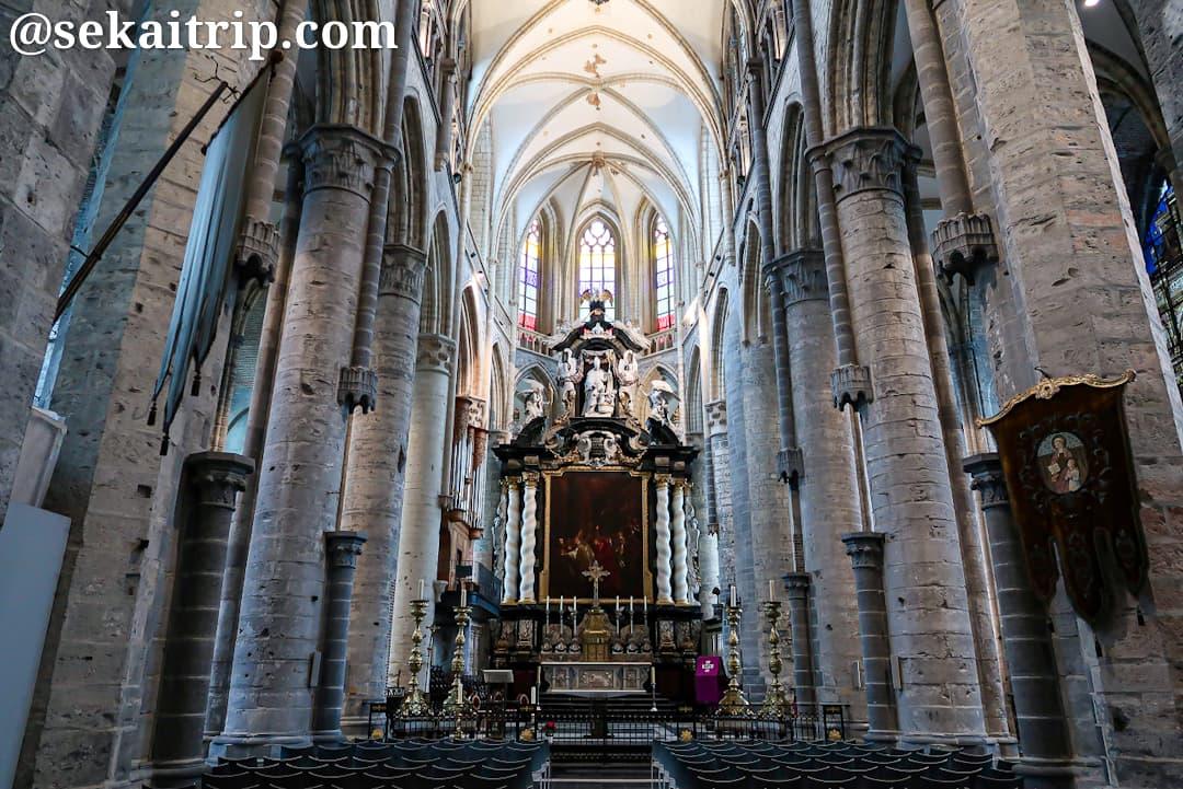 聖ニコラス教会(Sint-Niklaaskerk)の内部
