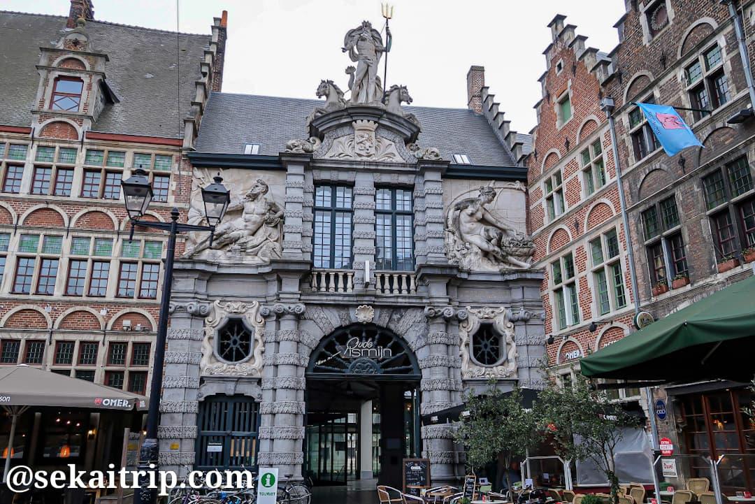シント=フェールレ広場(Sint-Veerleplein)にある建物