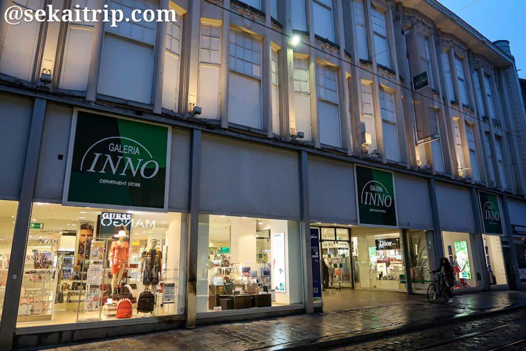 フェルト通り(Veldstraat)にある「Galeria Inno」