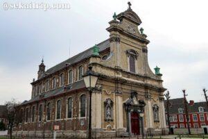 ベギン会小修道院(Klein Begijnhof Onze-Lieve-Vrouw ter Hoyen)にある教会