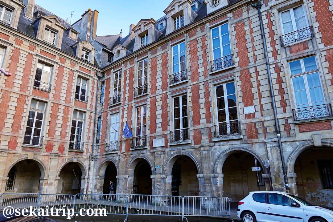 ヴィクトル・ユゴー記念館(Maison de Victor Hugo)
