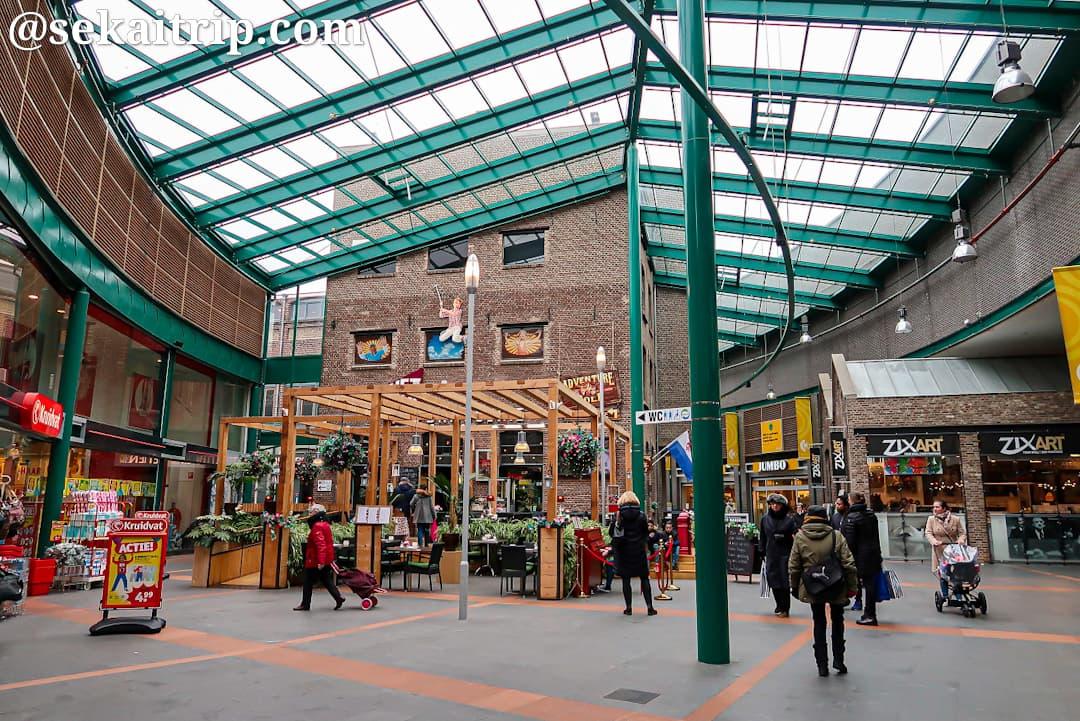 ルールセンター(Roercenter)の内部