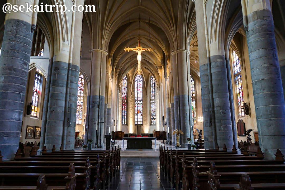 聖クリストフェル大聖堂(Sint Christoffel Kathedraal)の内部