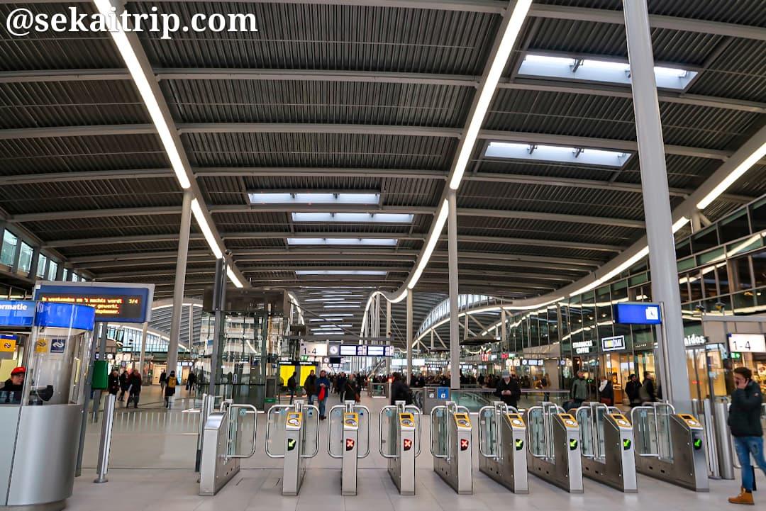 ユトレヒト中央駅(Station Utrecht Centraal)