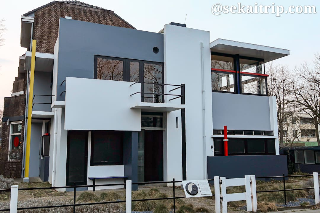 ユトレヒトのリートフェルトのシュレーダー邸