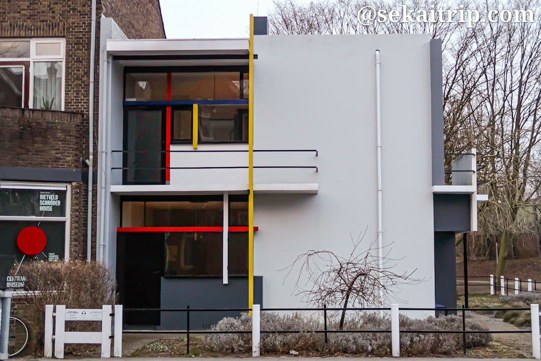 リートフェルトのシュレーダー邸(Rietveld Schröderhuis)