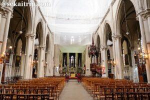 リール聖心教会(Église du Sacré-Cœur de Lille)の内部