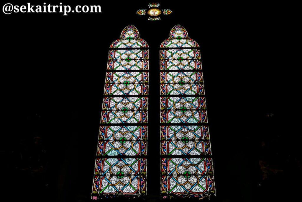 リール聖心教会のステンドグラス