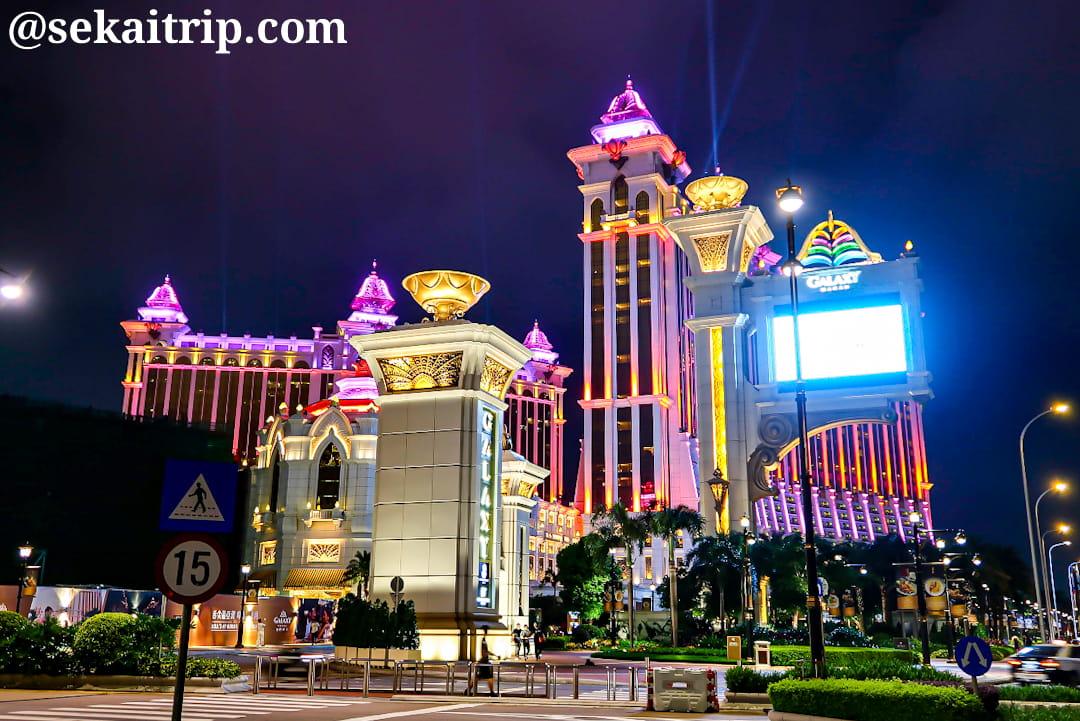 ギャラクシー・マカオ(Galaxy Macau)の夜景