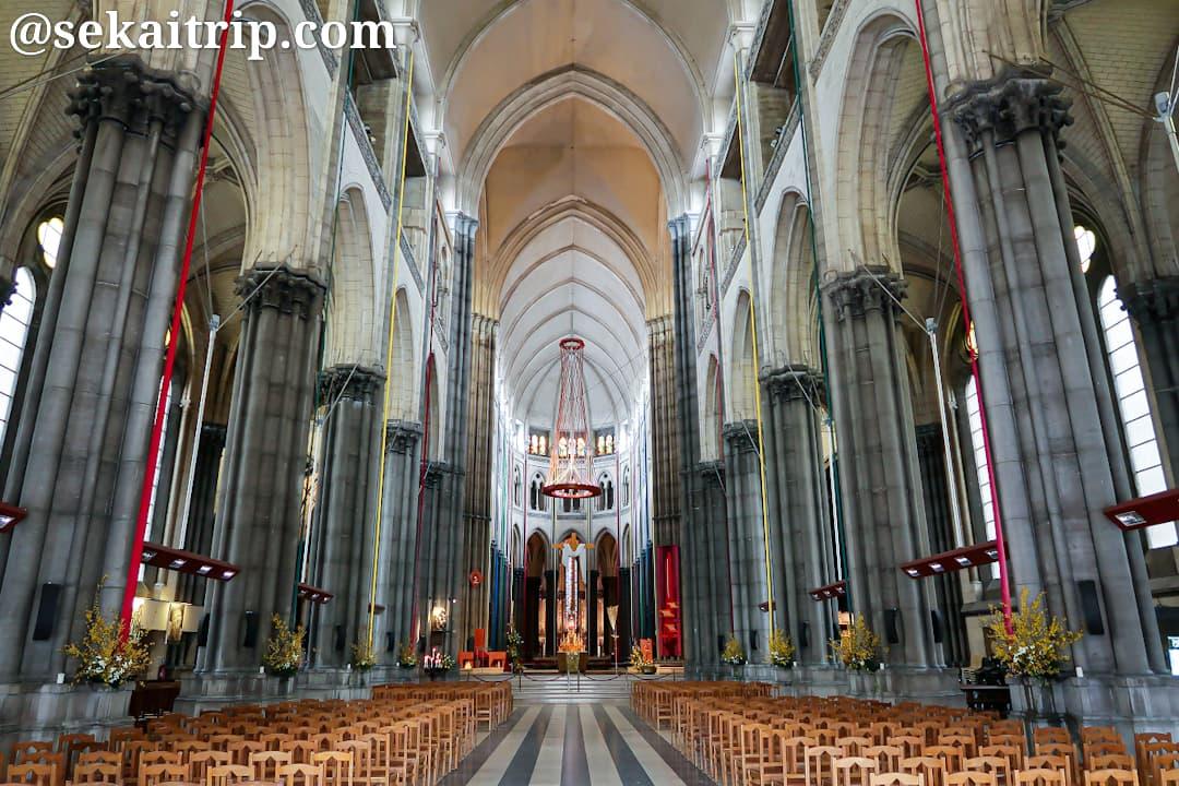 リール大聖堂(Cathédrale Notre-Dame-de-la-Treille)の内部