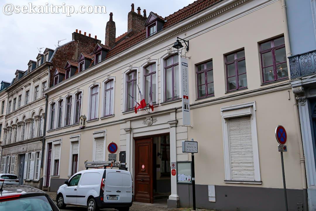 シャルル・ド・ゴールの生家(Maison natale Charles de Gaulle)