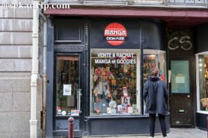 クレ通り(Rue de la Clef)のマンガ屋さん