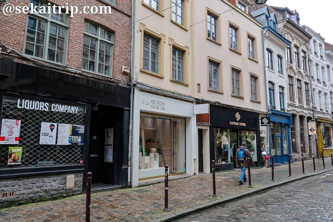 クレ通り(Rue de la Clef)