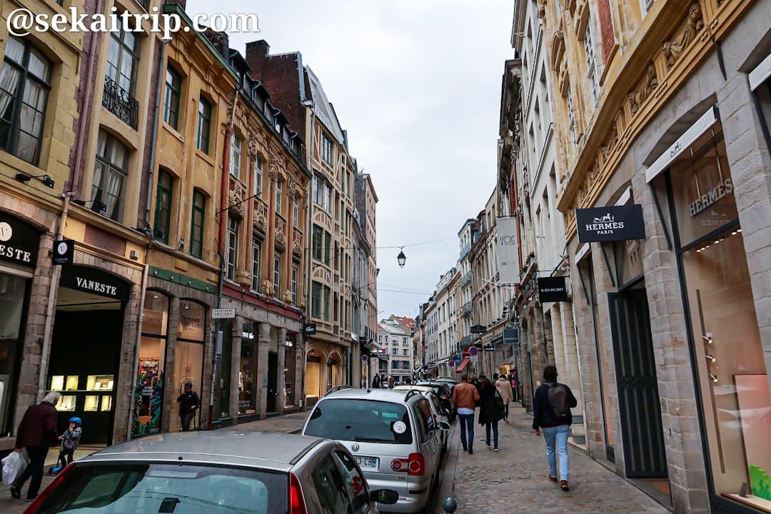グランド・ショセ通り(Rue de la Grande Chaussée)