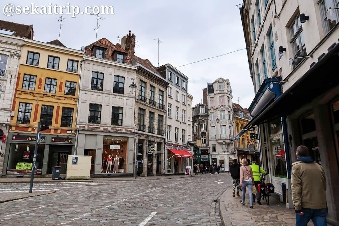 シャ・ボシュス通り(Rue des Chats Bossus)