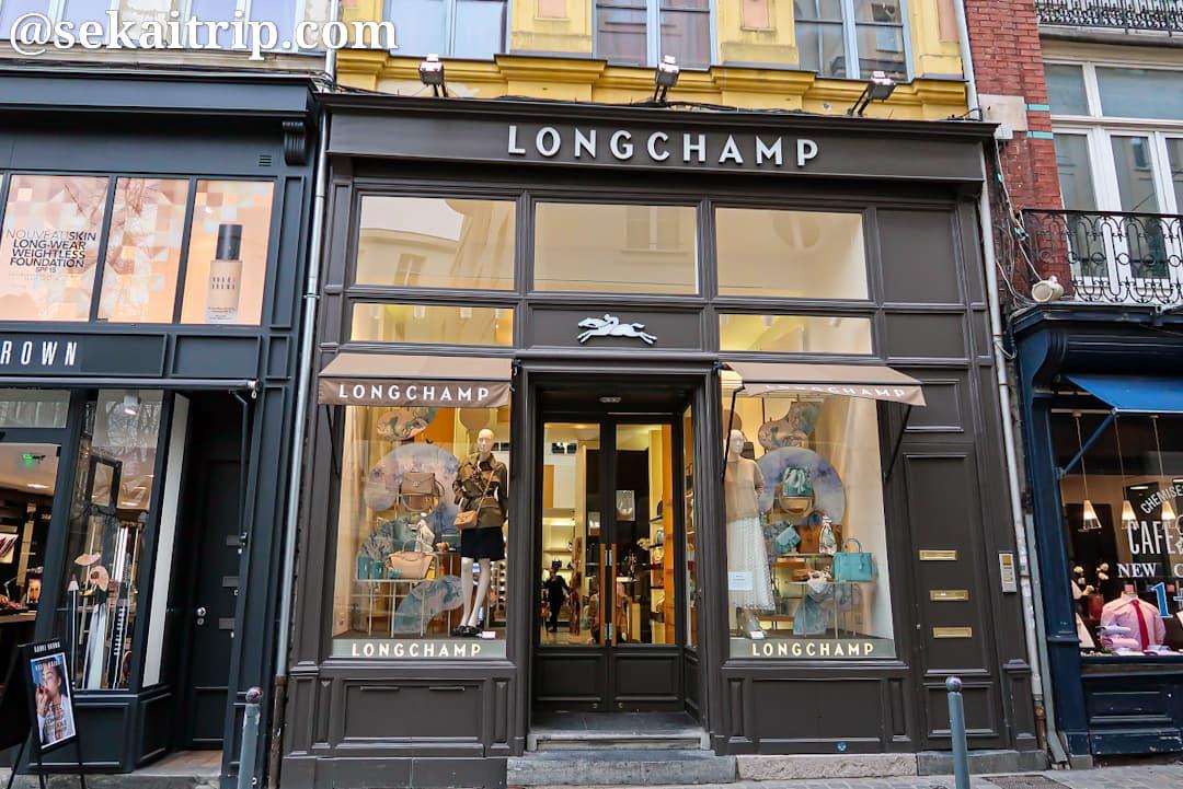 ルペルティエ通りのロンシャン