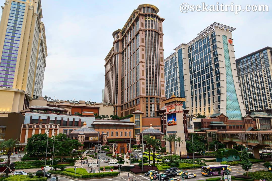 コタイ・セントラルの高級ホテル群