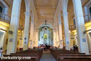 聖ドミニコ教会(Igreja de São Domingos)の内部