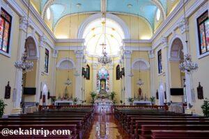 聖ローレンス教会(Igreja de São Lourenço)の内部