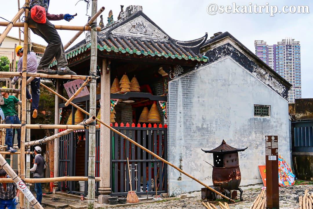 ナーチャ廟(Templo de Na Tcha)