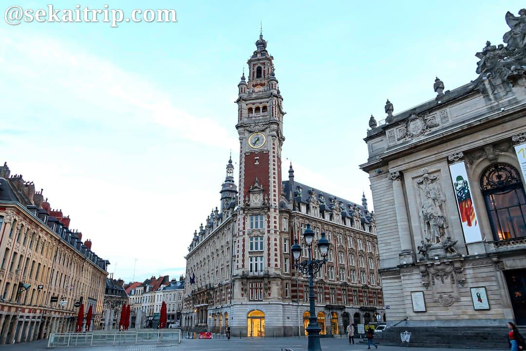 テアトル広場(Place du Théâtre Lille)