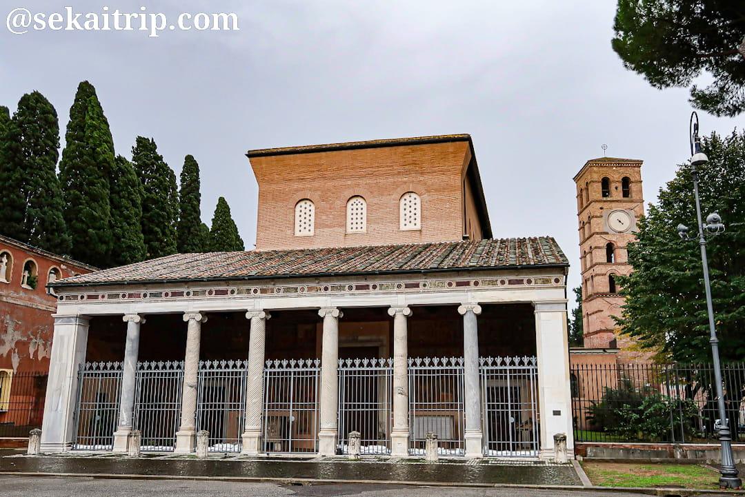 サン・ロレンツォ・フオーリ・レ・ムーラ大聖堂(Basilica di San Lorenzo fuori le Mura)