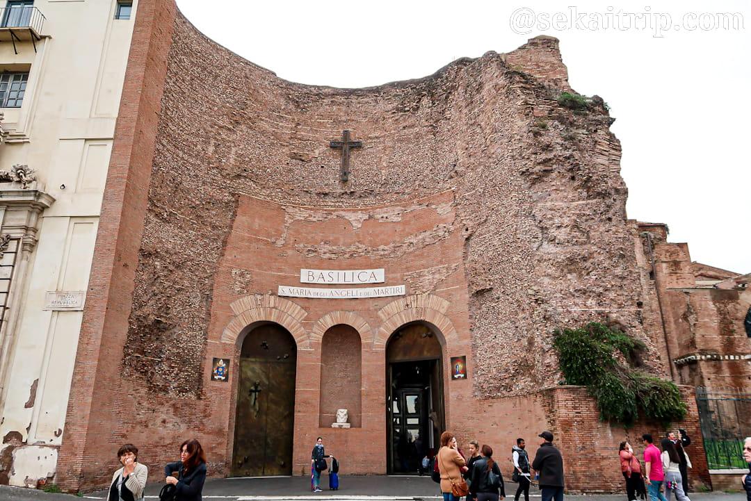 サンタ・マリア・デッリ・アンジェリ・エ・デイ・マルティーリ聖堂