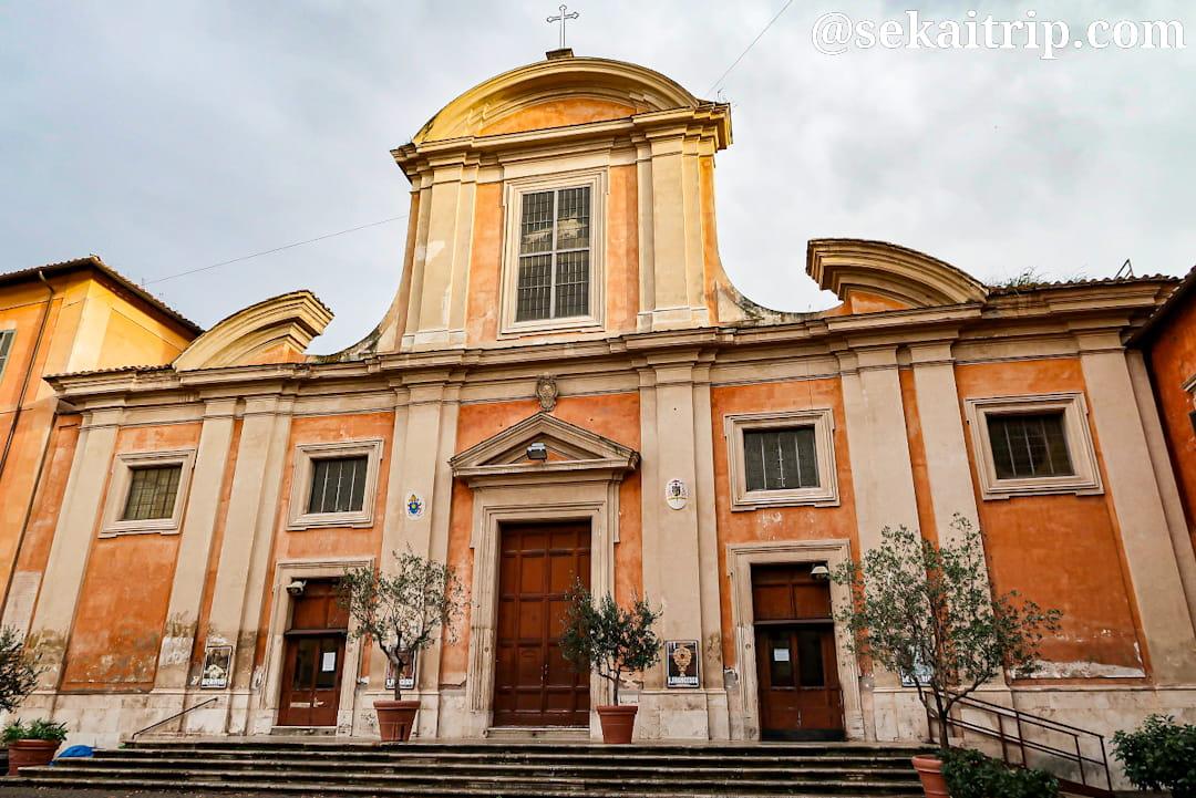 サン・フランチェスコ・ア・リーパ教会(Chiesa di San Francesco a Ripa)