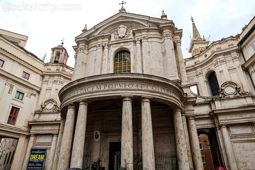 サンタ・マリア・デッラ・パーチェ教会(Chiesa di Santa Maria della Pace)