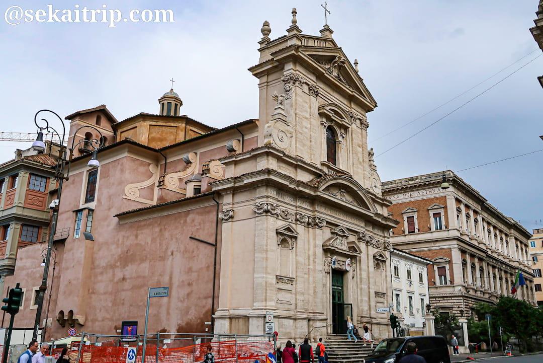 サンタ・マリア・デッラ・ヴィットリア教会(Chiesa di Santa Maria della Vittoria)