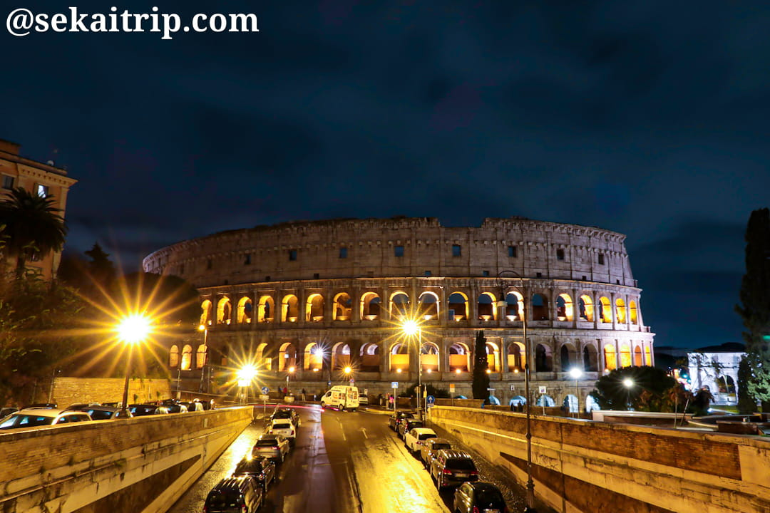 コロッセオ(Colosseo)の夜景