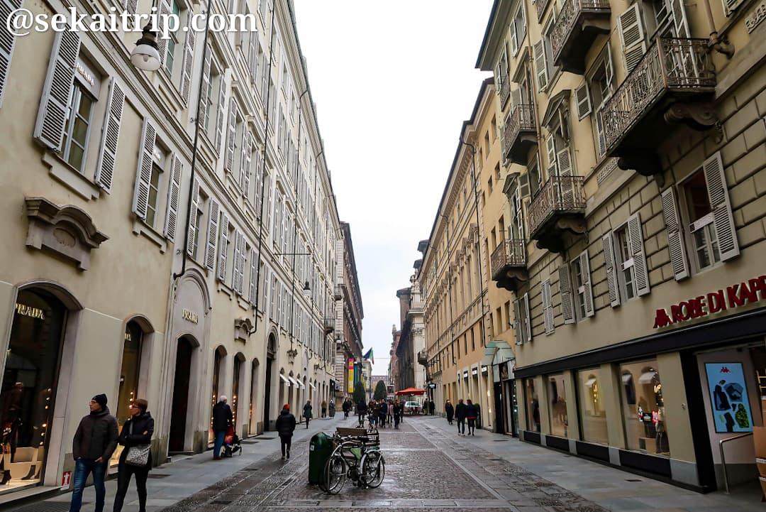 ジュゼッペ・ルイージ・ラグランジェ通り(Via Giuseppe Luigi Lagrange)