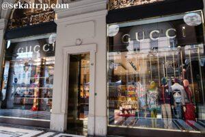 トリノのローマ通りにあるグッチ