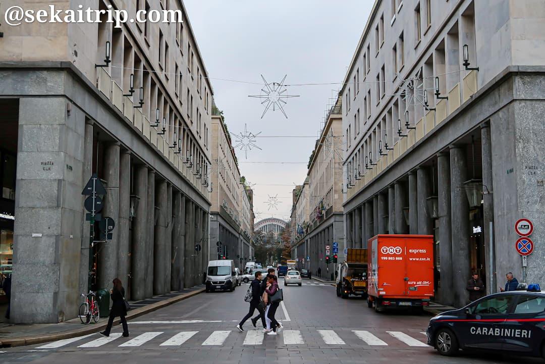 トリノのローマ通り(Via Roma)