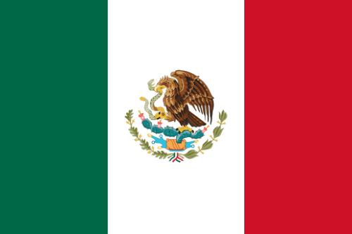 メキシコ国旗