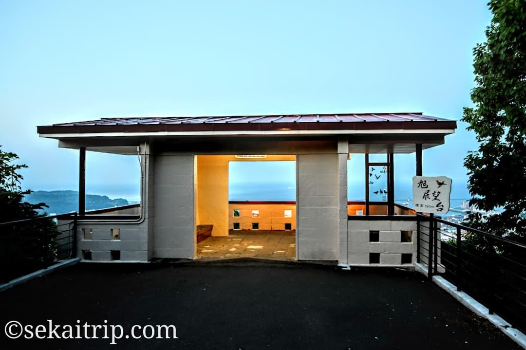 小樽の旭展望台
