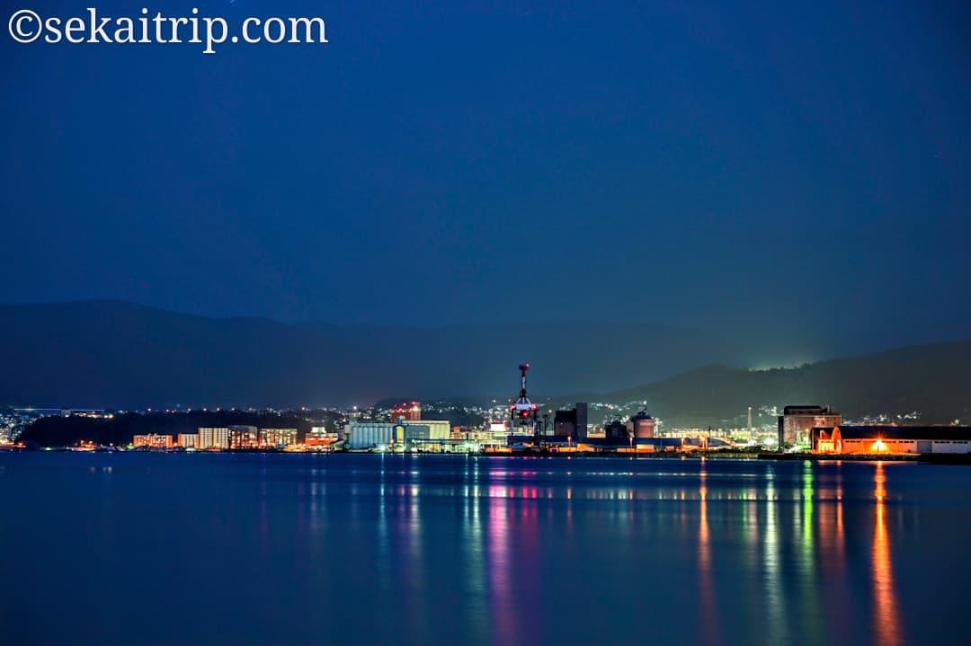 小樽港の夜景