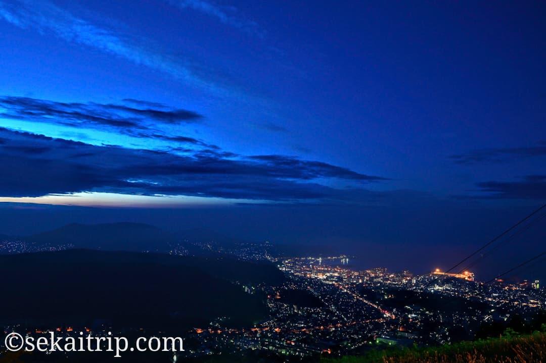 小樽天狗山の夜景